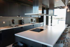 Felles kjøkken på Torp Campus ved Pilot Flight Academy