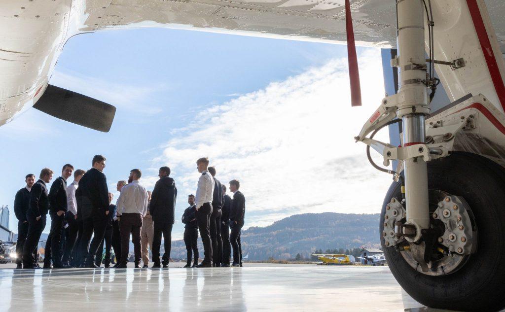 Class 18N10 visiting Flying Aces hangar at Notodden